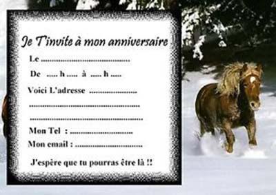 Carte D Anniversaire Animee Cheval Tasyafiolarara Web