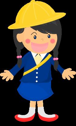 幼稚園児の女の子のイラスト 無料イラスト作成ソフトinkscapeインク