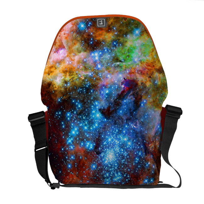 Stellar Nursery R136 in the Tarantula Nebula Messenger Bags