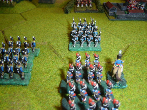 Lobau leads attack on le Haye Sainte