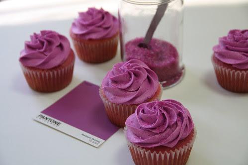pantone inspired cupcakes