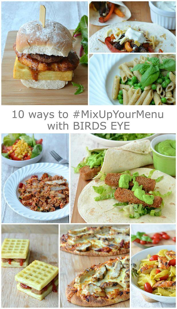 Birds Eye #MixUpYourMenu Twitter Party