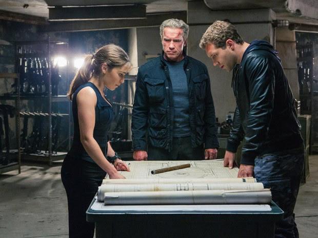 'Exterminador do Futuro: Gênesis' tem  Arnold Schwarzenegger, Emilia Clarke e Jai Courtney no elenco (Foto: Divulgação/Paramount)