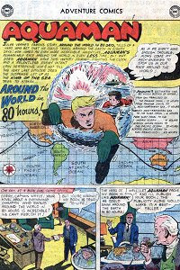 Adventure #273 Aquaman Splash Page