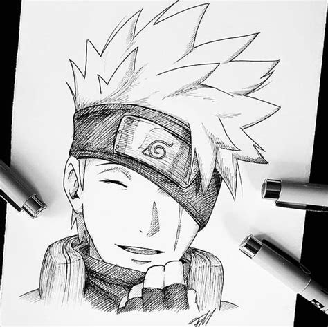 kakashi drawing kakashi drawing naruto sketch naruto