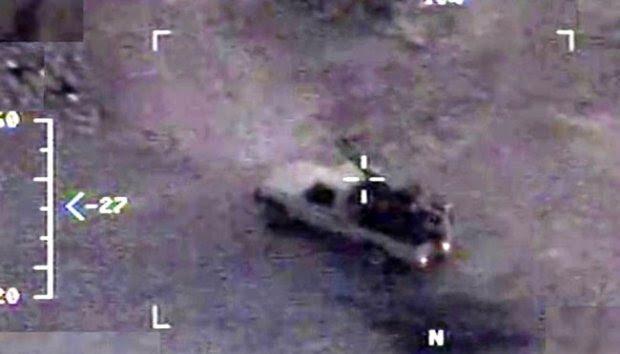 Drone Predator Italia Mata-matai Basis ISIS di Irak