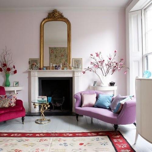 Decoração colorida: 40 fotos com ideias decorativas - Interior Design For Surrey, Berkshire, Middlesex, London, Kent Otherparts Of Southern England