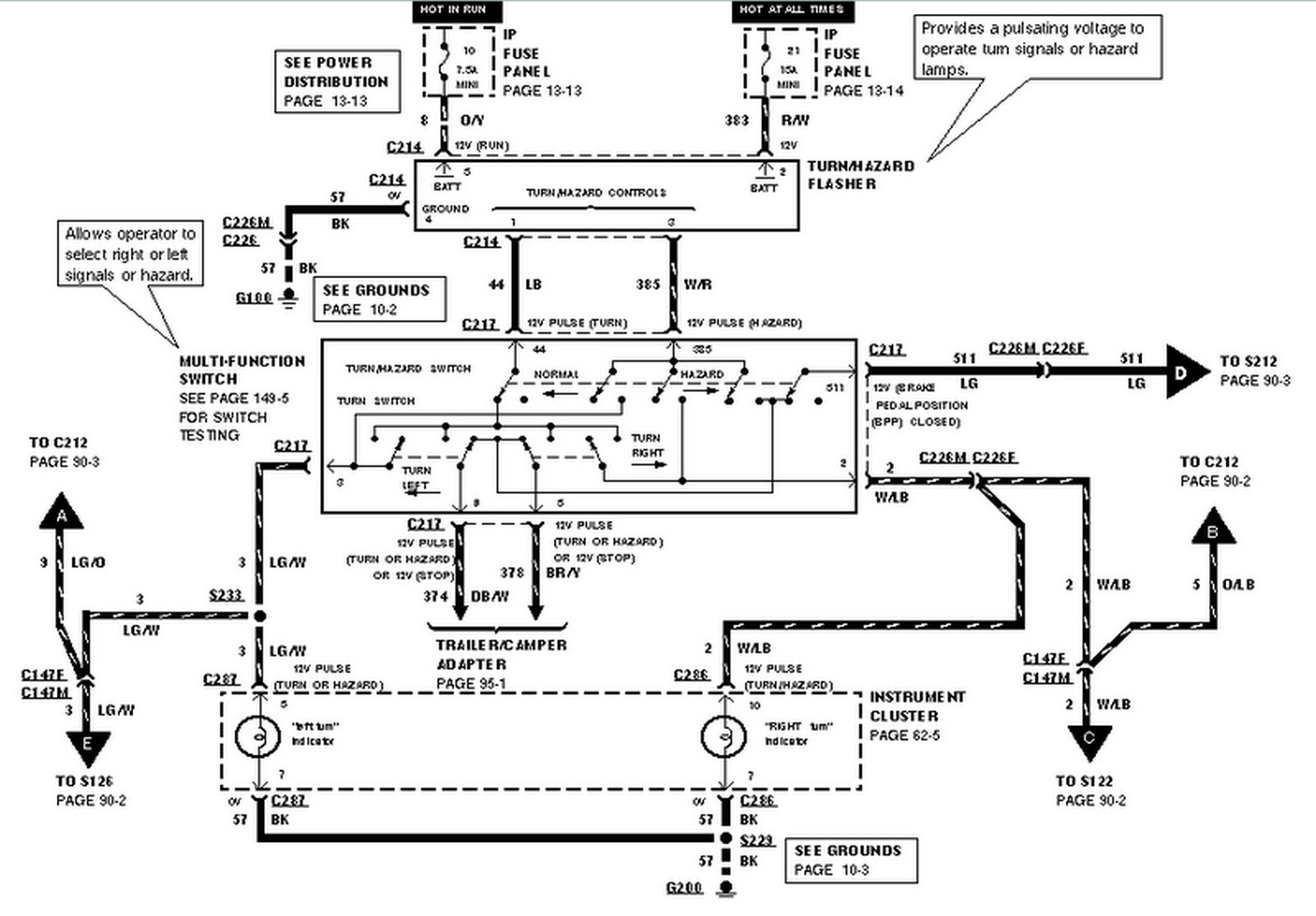 Harness Diagram View 2002 Ford Ranger Fuel Pump Wiring Diagram Png