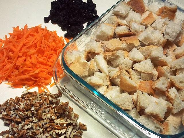 carrot cake capirotada prep 1
