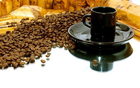 The fried coffee grains wallpapers and images   wallpapers