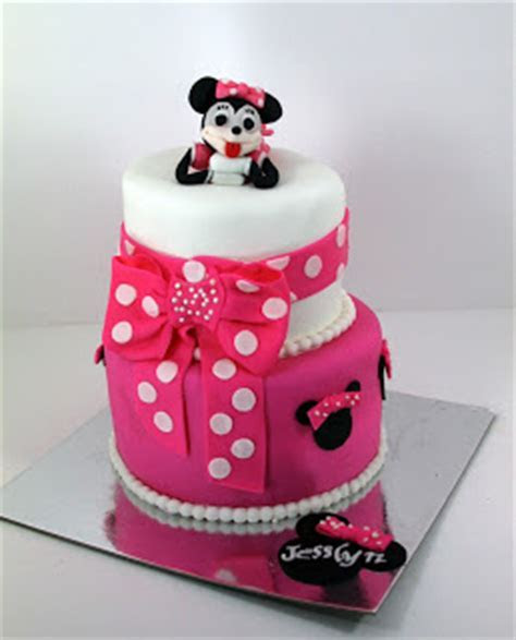 Tastefully Done: Mini Mouse Cake