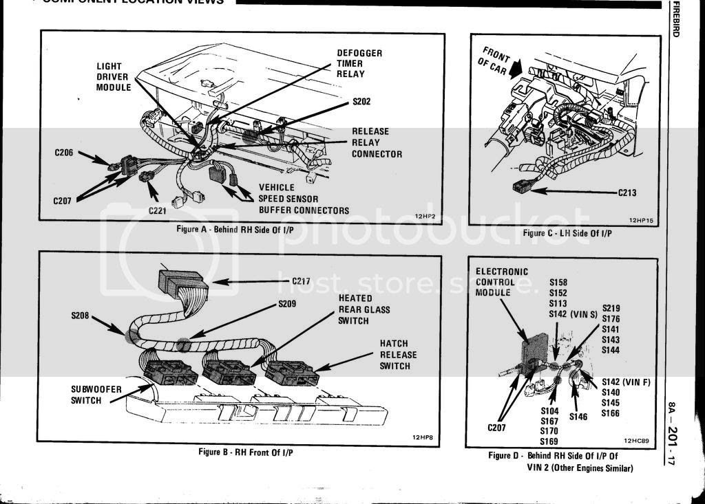 need wiring diagram for c207 and c221 85 trans am tpi ...