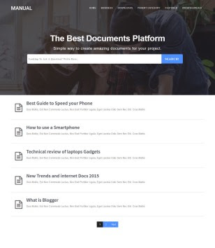Manual Blogger Templates