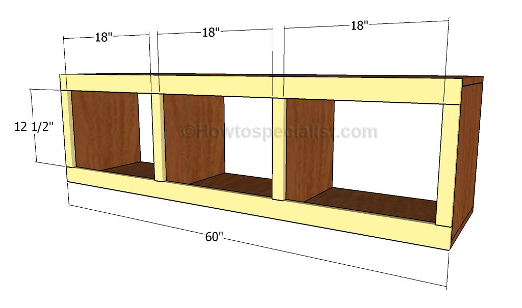 Mudroom Bench Plans HowToSpecialist How to Build Step
