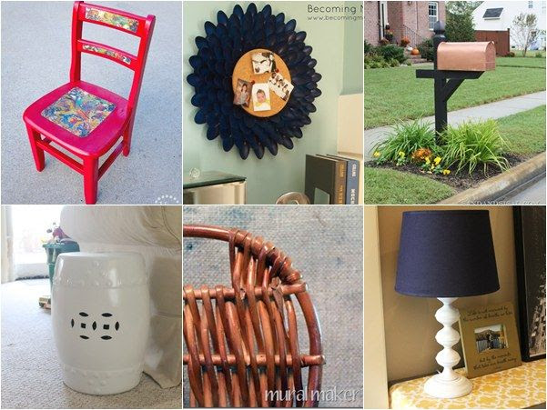 Simple Spray Painting Ideas for Your Home Decor ~ Madigan Made