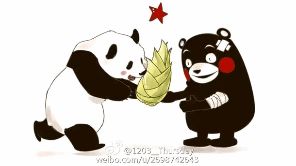 中国ネットにくまモンのイラストが溢れる中国人も熊本を心配