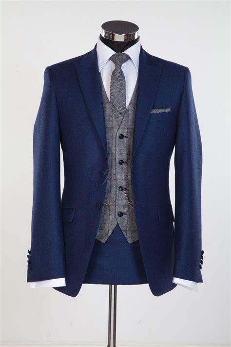 blue tuxedos ideas  pinterest navy blue