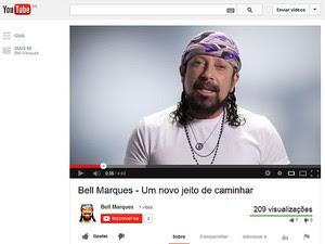 Bell Marques deixa Chiclete com Banana a partir de 2014 (Foto: Reprodução/ Youtube)