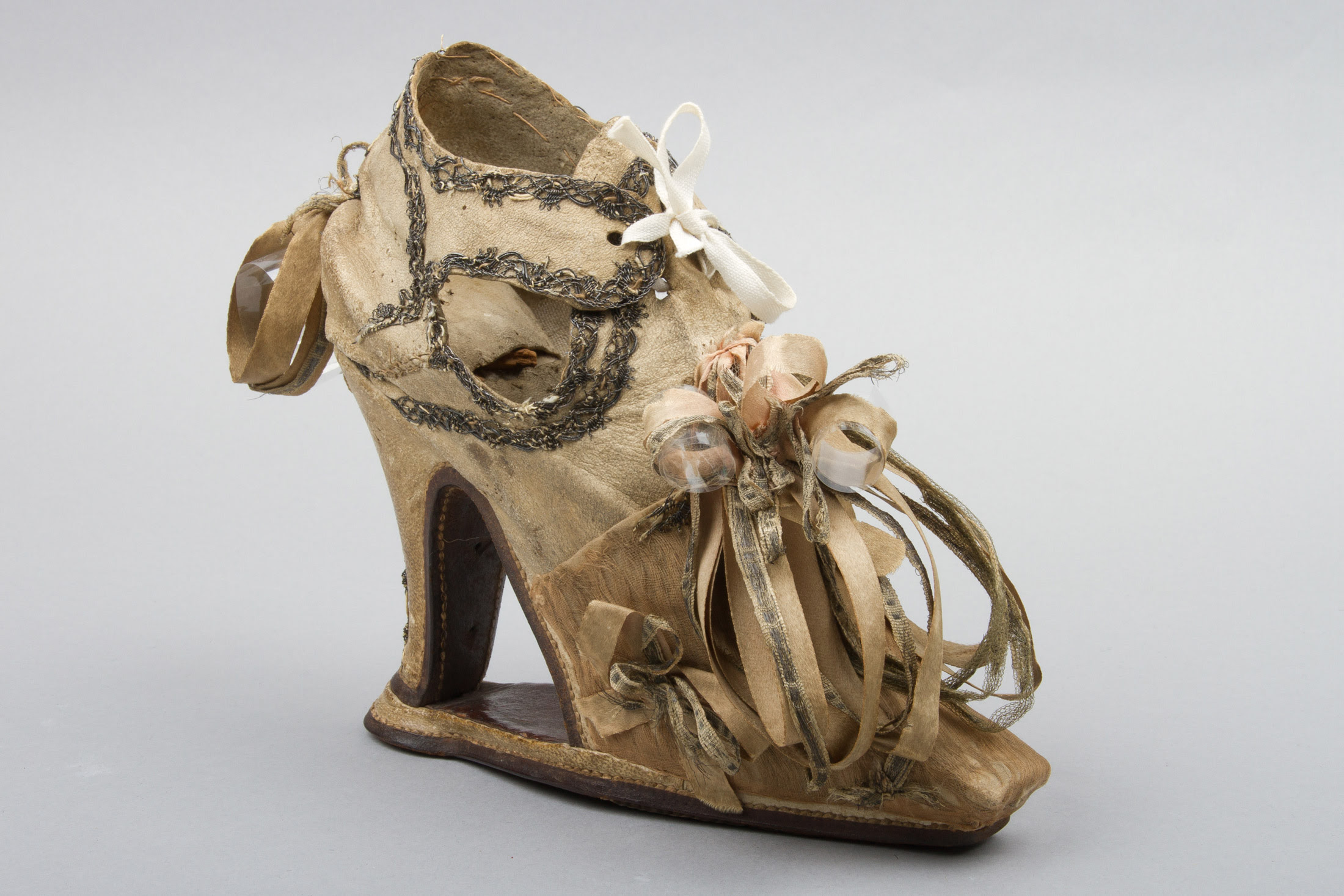 Women's Slap Sole Shoe, 1640-50, England