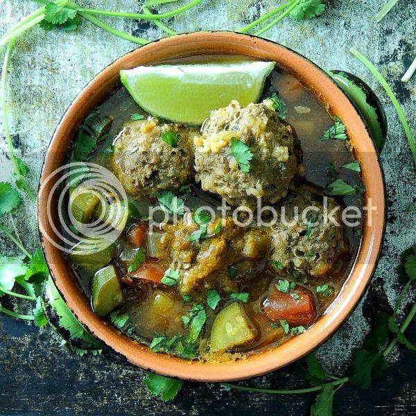 Albondigas (Mexican Meatball) Soup