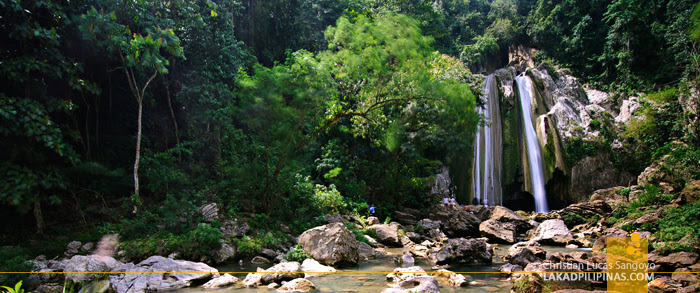 Panorama of Iligan City's Dodiongan Falls