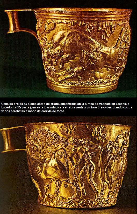 copa de oro de vapheio