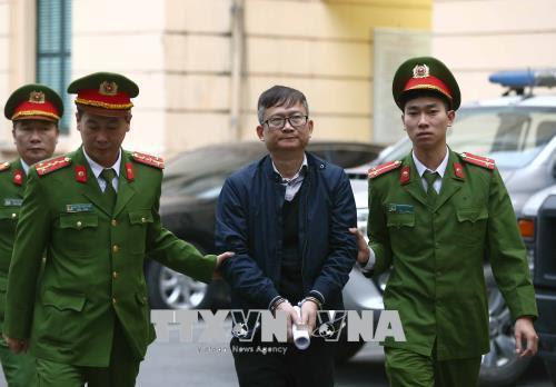 Trịnh Xuân Thanh,xét xử Trịnh Xuân Thanh,PVC,PVP Land,Đinh Mạnh Thắng
