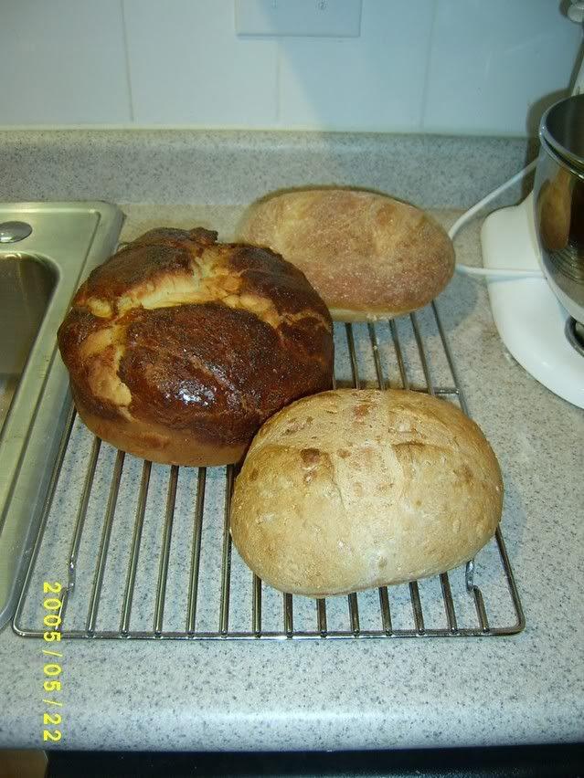 A trinity of bread