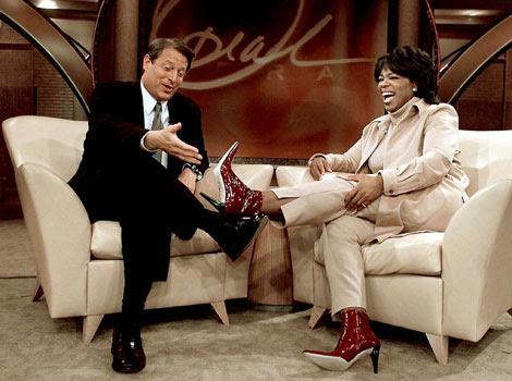 Al Gore en el show de Oprah Winfrey, en una imagen de archivo. | Reuters
