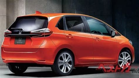 upcoming   honda jazz     rendering