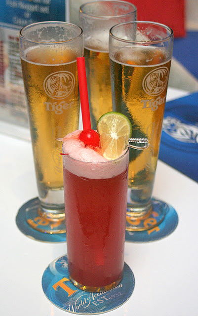 Tiger Crystal and their version of the Singapore Sling