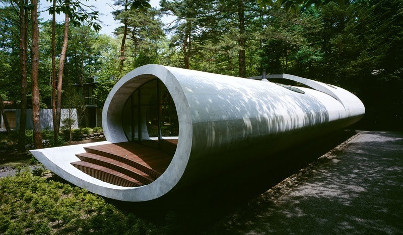 Modern  Shell Home in Japan