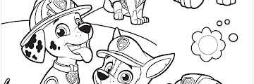 Free Printable Popular Paw Patrol Coloring Pages