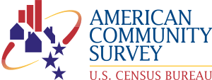 Logo of the American Community Survey, a proje...