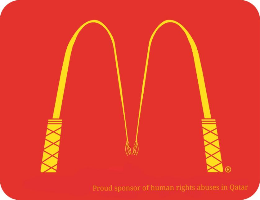 logos copa do mundo abuso de direitos humanos 3