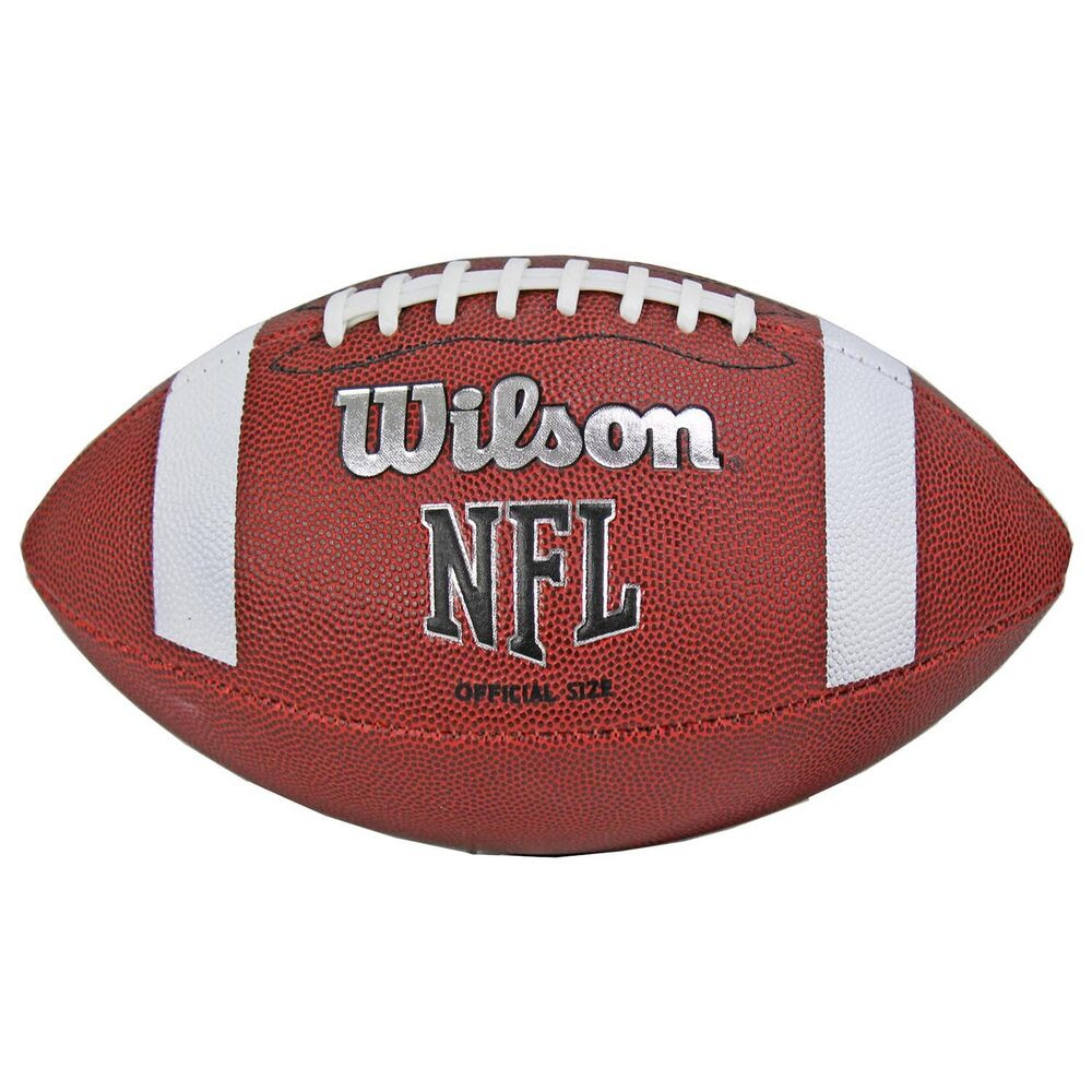 Wilson TDS NFL Official Size 9 Rubber Cover American Sports Football  WTF1858  eBay