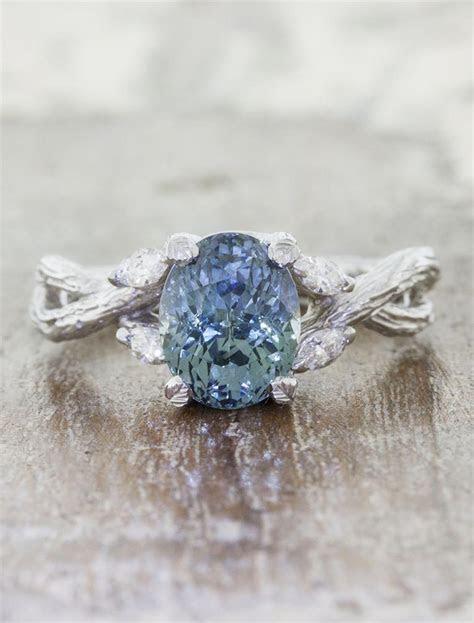 Emery: Montana Sapphire Ring, Nature Inspired   Ken & Dana