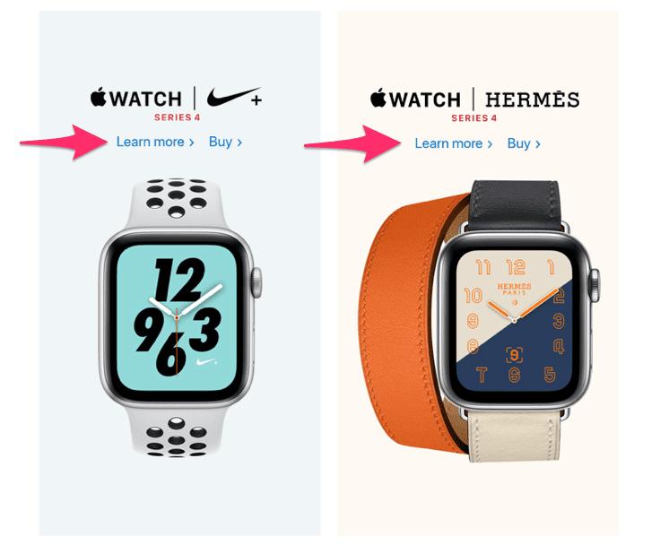 Apple Watch CTA