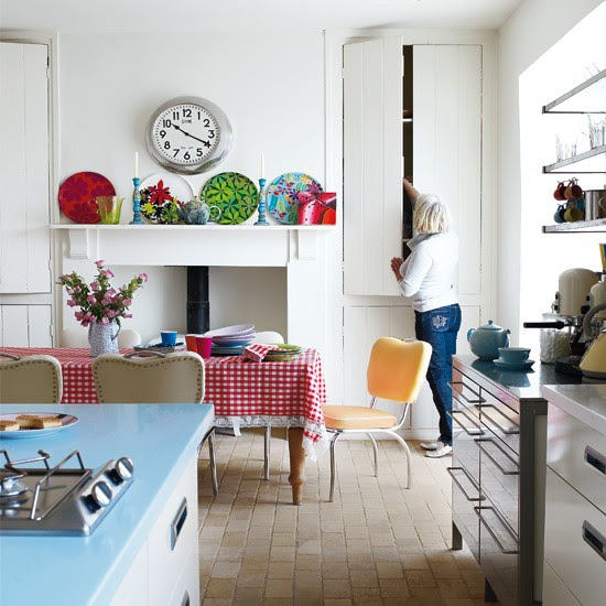 Kitchen-diner   Colourful Victorian home