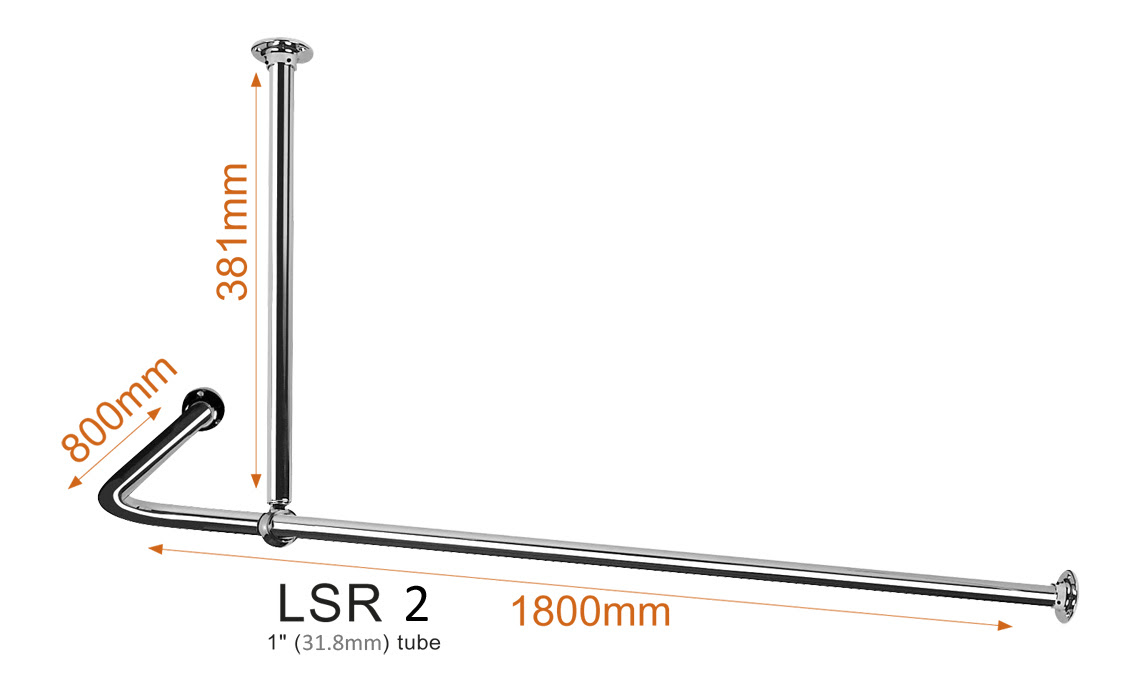 L Shaped Shower Curtain Rail B Q Blankets Throws Ideas Inspirations