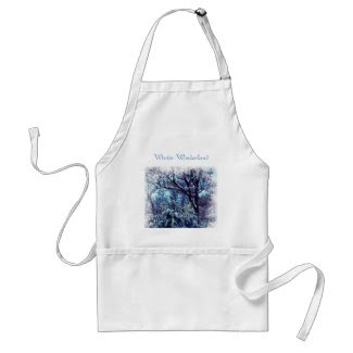 Winter Wonderland Christmas Apron