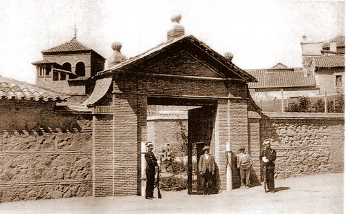 Entorno de la Sinagoga del Tránsito, Toledo (España)