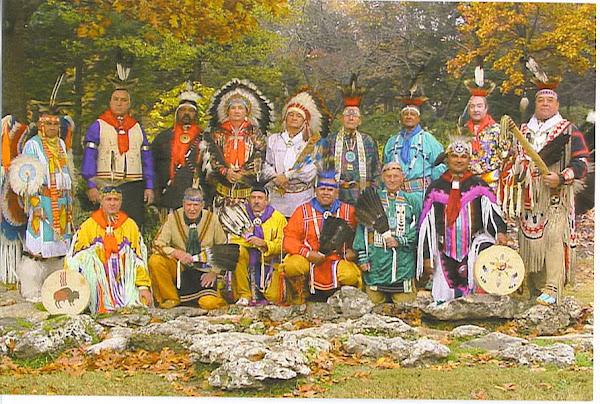 The Oklahoma Masonic Indian Degree Team
