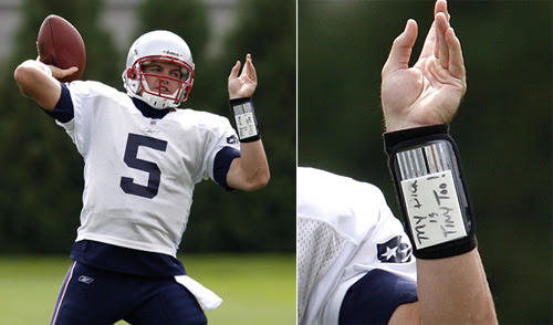 QBs wristband: My dick is tiny too!  Outsports