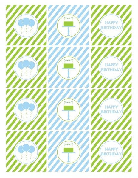 Birthday Party Ideas For Boys With Free Printables