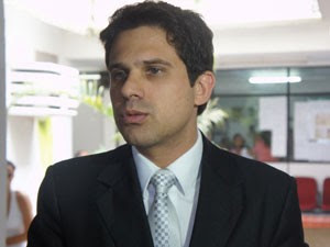 Rodrigo Celino, advogado de Shaolin, afirmou que o depoimento do acusado foi contraditório (Foto: André Resende/G1)