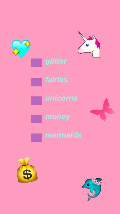 unicorn girl aesthetic tumblr