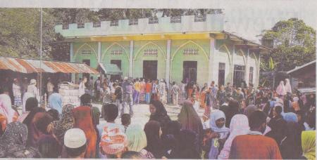 Masjid al-furqan ,tempat kejadian pembunuhan