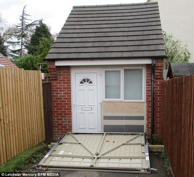 Couple illegally converted their garage into extra house ...
