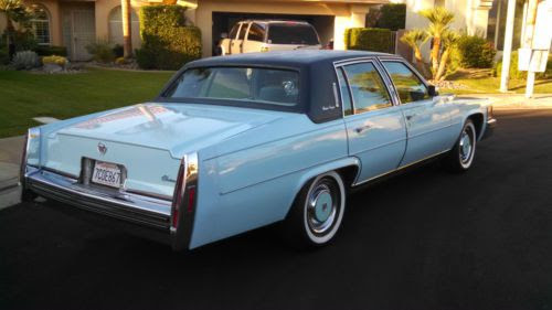 Sell used 1978 Cadillac Fleetwood Brougham in Palm Desert ...